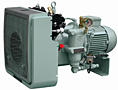 Air Compressors from 100-580 psi Air Cooled