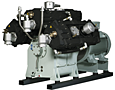 Compressors from 125 to 7000 psi Water Cooled 6000 Series
